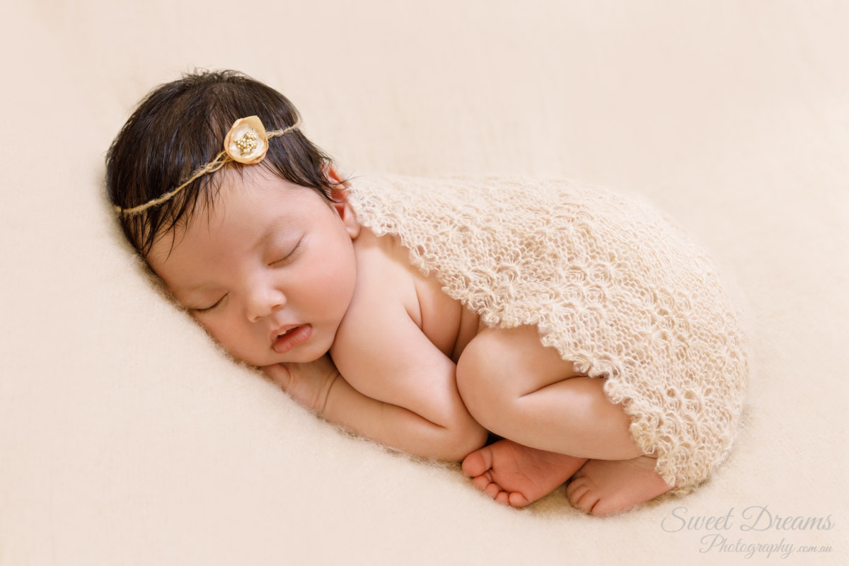 Arielle 3 Weeks Old Sweet Dreams Photography Perth Newborn