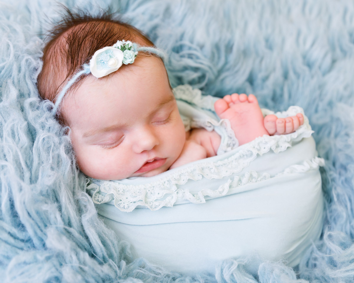Bronte 5 weeks old newborn photography perth